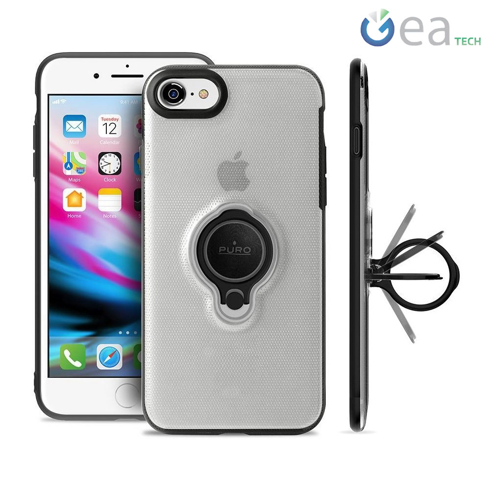 Cover semirigida per iPhone 7 / 8 con custodia AirPods integrata