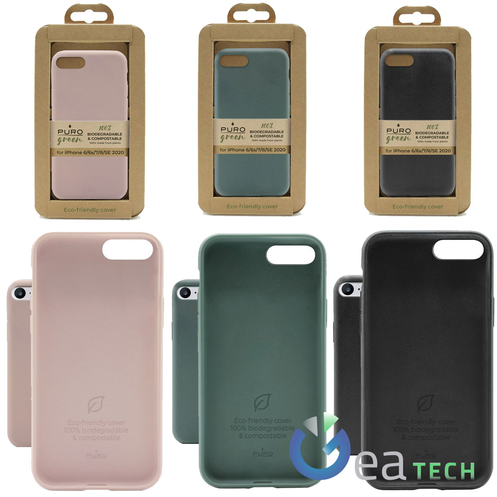 Puro Green Cover Biodegradabile e Compostabile Per iPhone 6/6s/7/8 ...