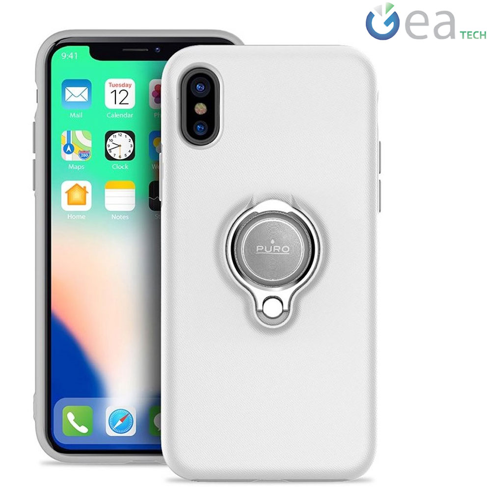 PURO Cover Custodia per Smartphone Apple iPhone 8 Plus Hologram
