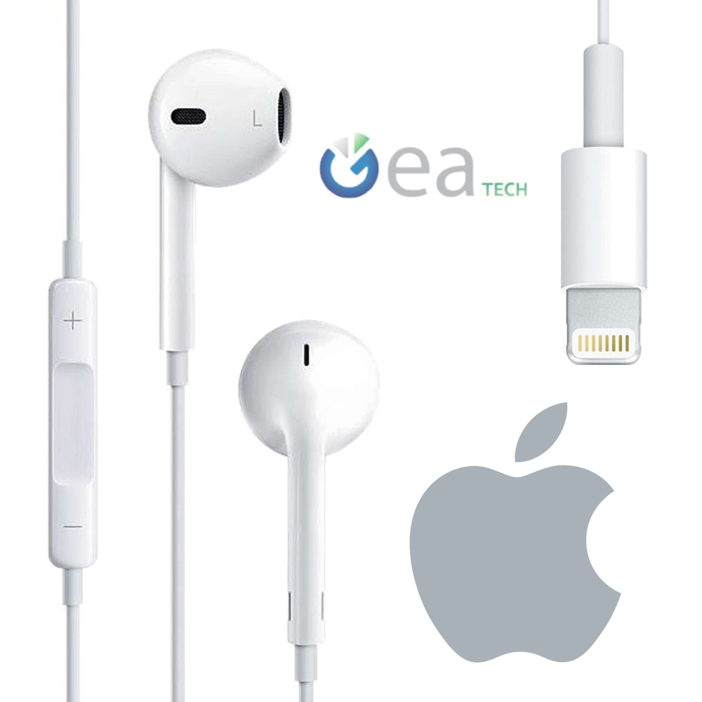 headphones earpods original mmtn2am a for apple iphone 7 plus lightning 190198001696 ebay. Black Bedroom Furniture Sets. Home Design Ideas