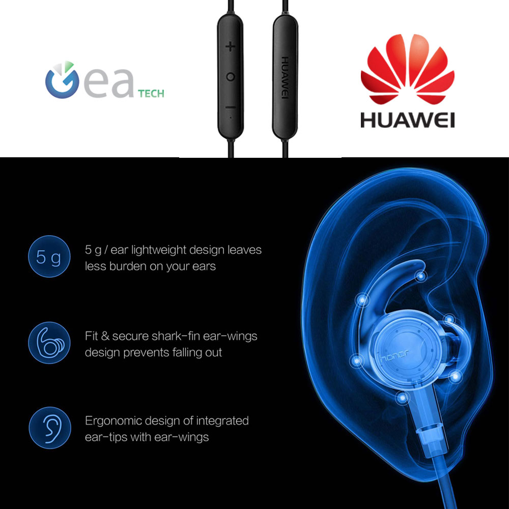 Huawei Am61 Auricolari Bluetooth 4.1 Nero | Acquisti ...